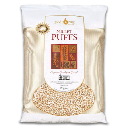 Good Morning Millet Puffs 175g