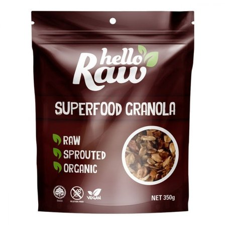 Hello Raw Superfood Granola 350g