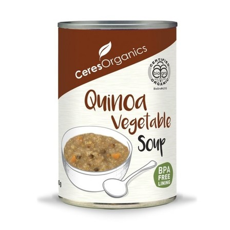 Ceres Quinoa Vegetable Soup 400g