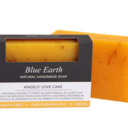 Blue Earth Soap Angel's Love Cake