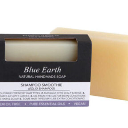 Blue Earth Soap Shampoo Smoothie