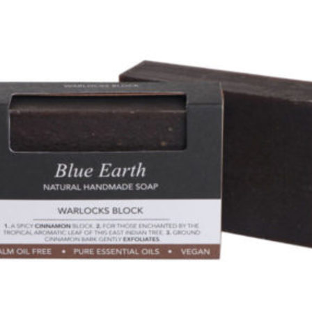 Blue Earth Soap Warlocks Block