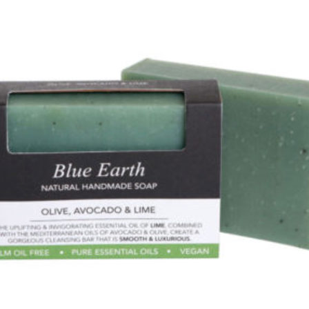 Blue Earth Soap Olive, Avocado & Lime