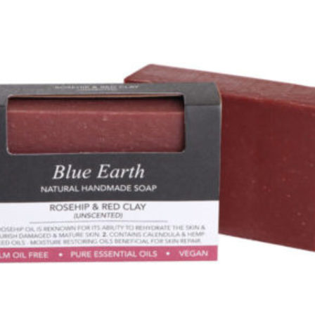 Blue Earth Soap Rosehip & Red Clay