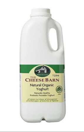 The Cheese Barn Organic Yoghurt 1L