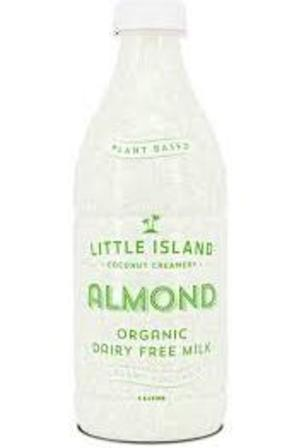 Little Island Almond Coconut Milk 1L