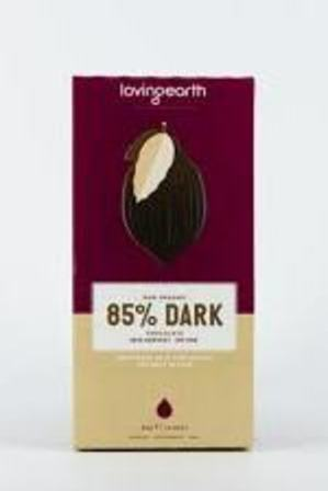 Loving Earth 85% Dark Chocolate 80g