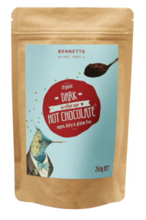 Bennetto Dark Cocoa Hot Chocolate Powder 250g