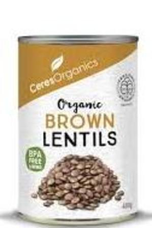 Ceres Brown Lentils 400g