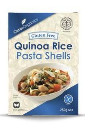 Ceres Quinoa Rice Pasta Shells