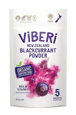 Viberi Freeze Dried Blackcurrant Powder 5 x Sachet