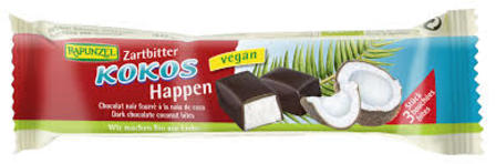 Rapunzel Kokos Happen Chocolate Coconut Bar 50g