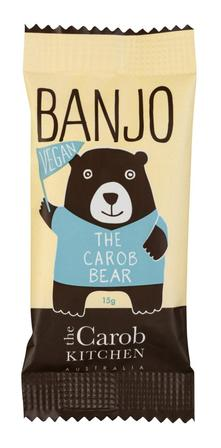 Banjo The Vegan Carob Bear Bar 15g