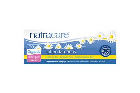 Natracare Organic Cotton Tampons 20 Super Plus