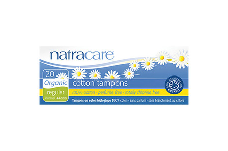 Natracare Organic Cotton Tampons 20 Regular