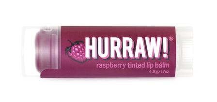 Hurraw Echium Raspberry Tinted Lip Balm