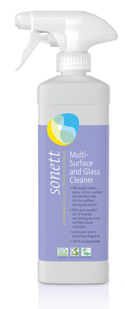 Sonett Multi-Surface & Glass Cleaner Spray