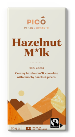 Pico Chocolate Hazelnut Milk 80g