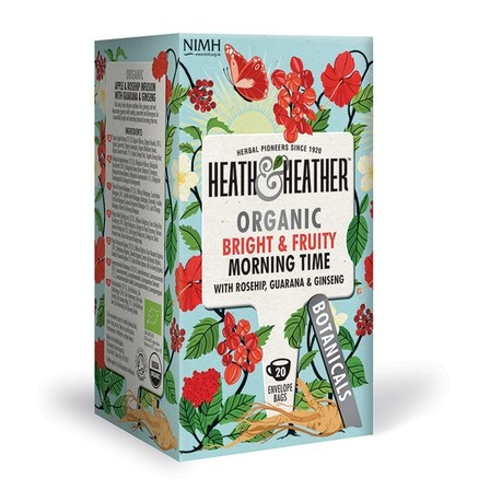Heath & Heather Bright & Fruity Morning Time Tea