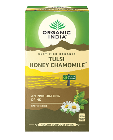 Organic India Tulsi Honey Chamomile Tea 25 Bags