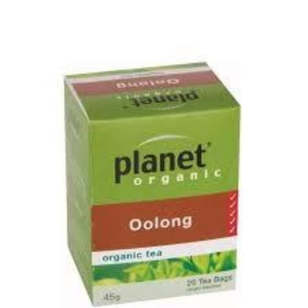 Planet Organic Oolong Tea 25 Bags