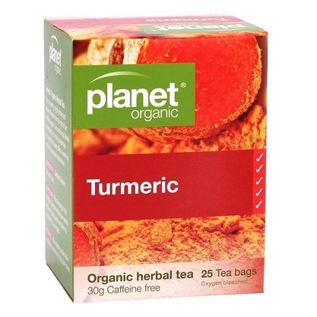 Planet Organic Turmeric Tea 25 Bags