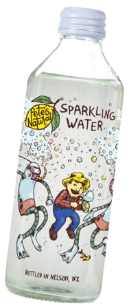 Pete's Natural Sparkling Water